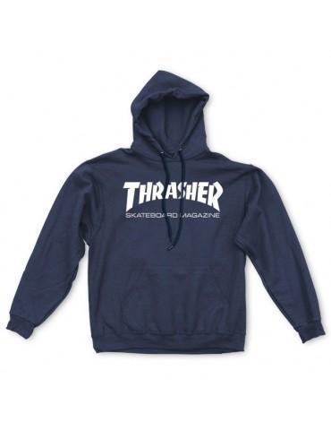 Thrasher Skate Mag Hood Blue