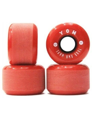 YOW Wheels 60x40mm 83a Red