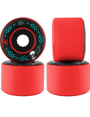 Powell Peralta Snakes 66mm Red