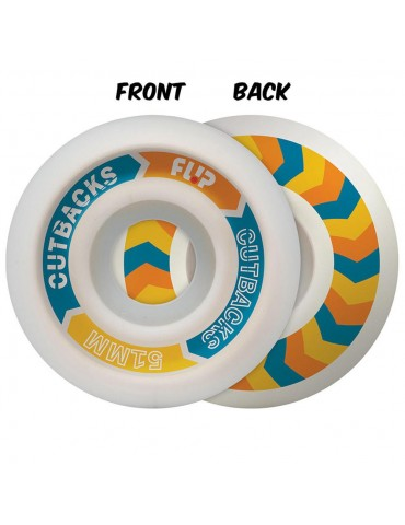 Flip Cutbacks Wheels 51mm 99a