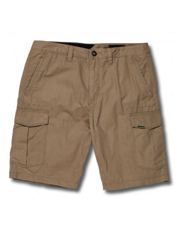 Volcom Miter II Cargo Shorts Khaki