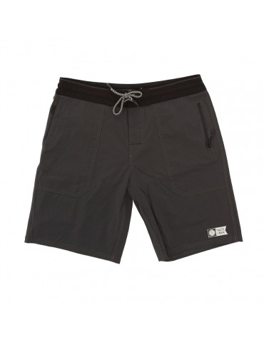 Salty Crew Leeward Utility Short Charcoal 19""