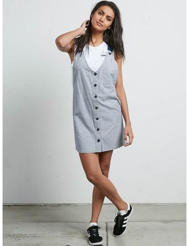 Volcom Cham Stripe Dress STP