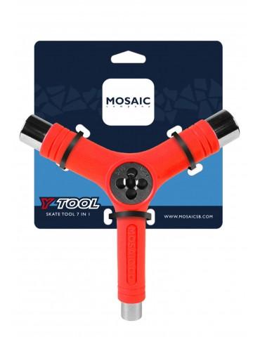 Mosaic Y Tool Red