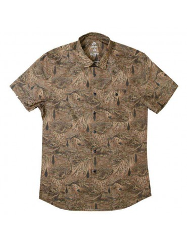 Jones Shirt Mountain Aloha Tan
